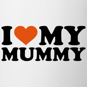 I love my Mummy Accessories - Contrast Coffee Mug