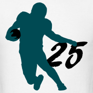 Design ~ McCoy SUPERSTAR #25 Eagles Shirt