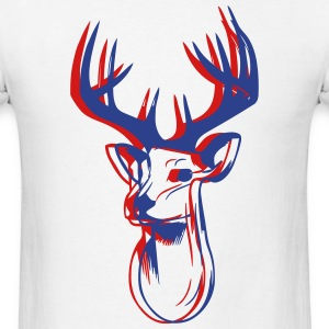 Deer 3D - Men's T-Shirt