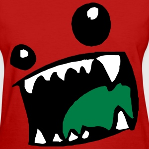 Monster Mouth Women's T-Shirts - Women's T-Shirt