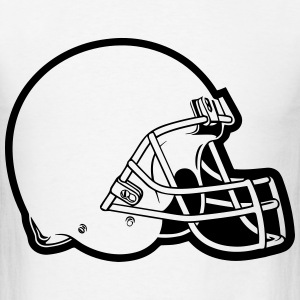 Helmet Football T-Shirts - Men's T-Shirt
