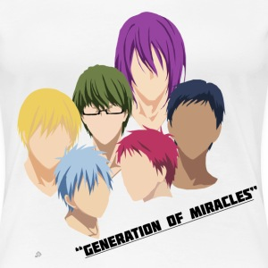 Kuroko no Basuke: Generation of Miracles Women's T-Shirts - Women's Premium T-Shirt