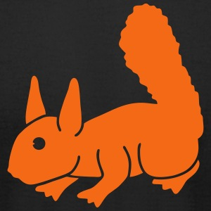 Cute Squirrel T-Shirts - Men's T-Shirt by American Apparel