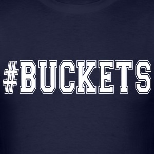 #Buckets basketball t-shirt - Men's T-Shirt