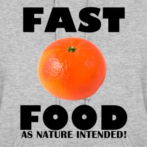 Fast Food Orange Hoodies - Women's Hoodie