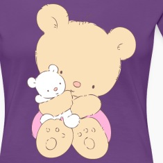 Bear hugging toy Teddy bear Women's T-Shirts
