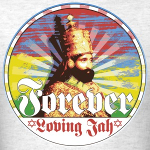 forever loving jah T-Shirts - Men's T-Shirt