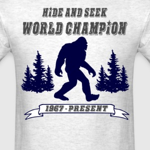Hide and Seek World Champion - Men's T-Shirt