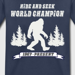 Hide and Seek World Champion Dark Tee - Kids' Premium T-Shirt
