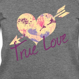 True love - Women's Wideneck Sweatshirt