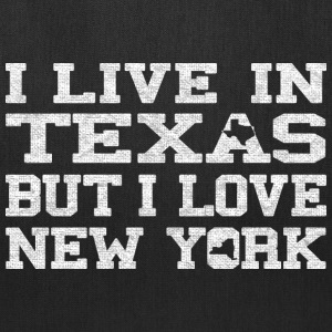 live_texas_love_new_york Bags & backpacks - Tote Bag