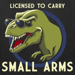 Licensed to Carry Small Arms - Tote Bag
