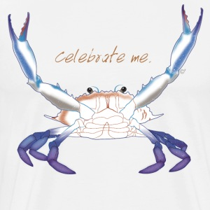 Celebrate Me. Maryland Blue Crab T-Shirts - Men's Premium T-Shirt