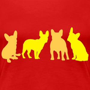 French Bulldog Women's T-Shirts - Women's Premium T-Shirt