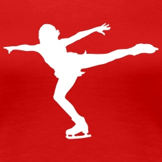 figure skating Women's T-Shirts
