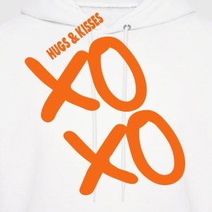 XOXO HUGS AND KISSES - Men's Hoodie