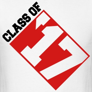 Class of '17 Invert - Men's T-Shirt