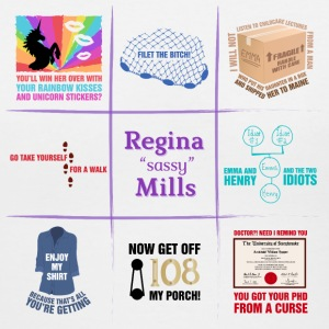 Regina Sassy Mills Quotes - Women's V-Neck T-Shirt