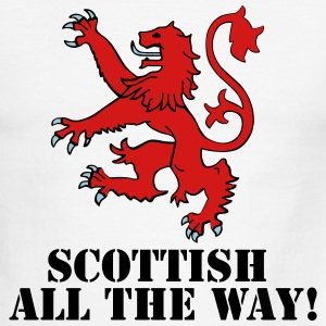 Scottish All the Way! - Men's Ringer T-Shirt