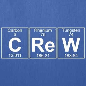 C-Re-W (crew) - Full Bags & backpacks - Tote Bag