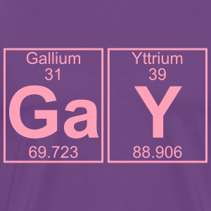 Ga-Y (gay) - Full T-Shirts - Men's Premium T-Shirt