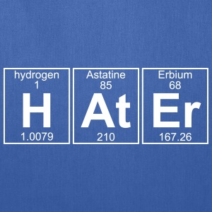 H-At-Er (hater) - Full Bags & backpacks - Tote Bag