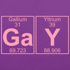 Ga-Y (gay) - Full Bags & backpacks - Tote Bag