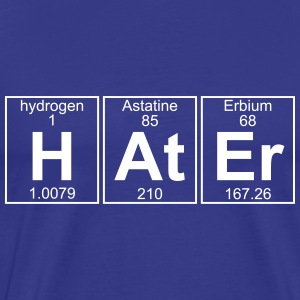 H-At-Er (hater) - Full T-Shirts - Men's Premium T-Shirt