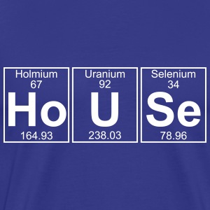 Ho-U-Se (house) - Full T-Shirts - Men's Premium T-Shirt