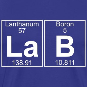 La-B (lab) - Full T-Shirts - Men's Premium T-Shirt