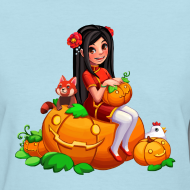 Design ~ Women's Tee: PumpKim!