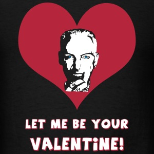 Let me be your Valentine! - black transparent - Men's T-Shirt