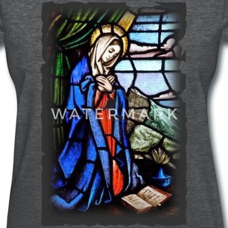 Virgin Mary_N1 Women's T-Shirts - Women's T-Shirt