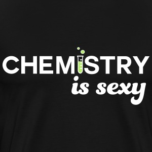 Chemistry is Sexy T-Shirts - Men's Premium T-Shirt