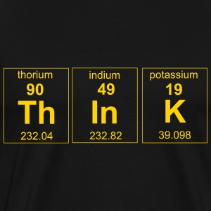 Periodic Think Element T-Shirts - Men's Premium T-Shirt