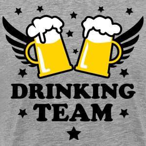 10 Drinking Team 3c Beer Bier Party Alcohol 3c Bee - Men's Premium T-Shirt