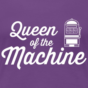 Queen of the Machine Women's T-Shirts - Women's Premium T-Shirt