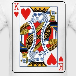 King of Hearts - Men's T-Shirt