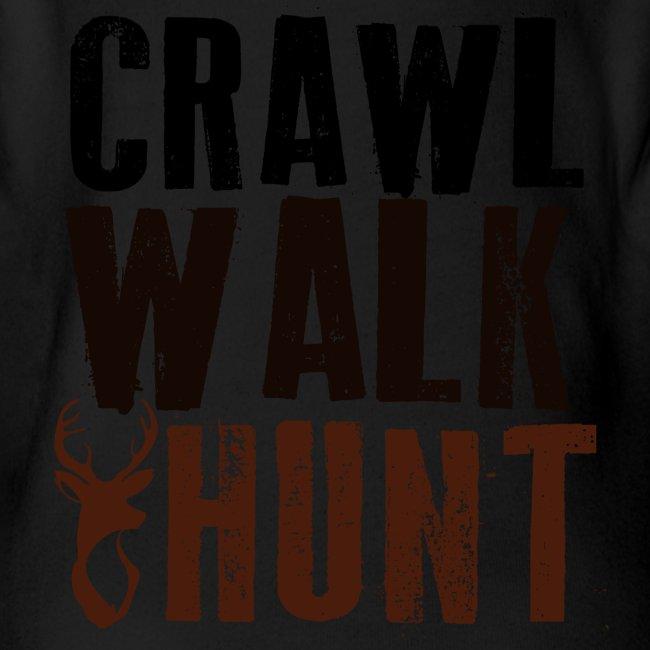 Crawl, Walk Hunt Onesie