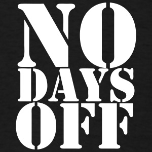 No Days Off #Shooter basketball t-shirt - Men's T-Shirt