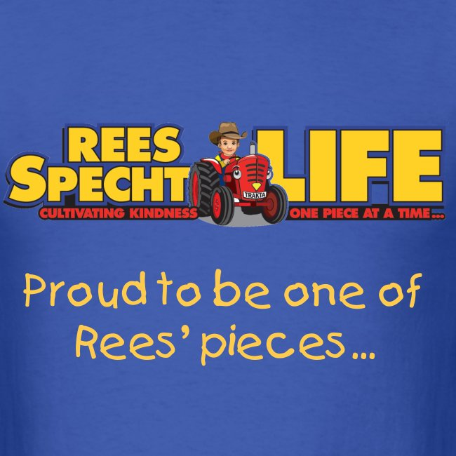 T-shirt Gold Rees' pieces