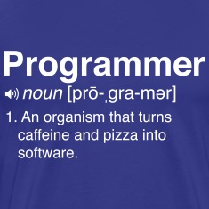 Funny programmer definition T-Shirts