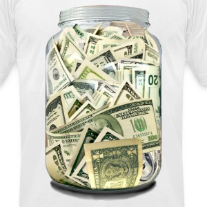 MONEY - Men's T-Shirt by American Apparel