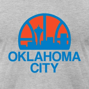 OKC T-Shirts - Men's T-Shirt by American Apparel