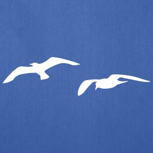 sea gull seagull harbour bird beach sailing ocean Bags & backpacks - Tote Bag