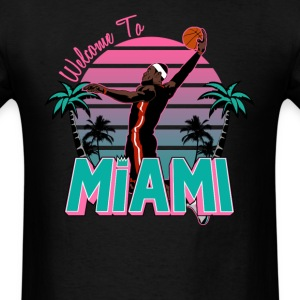 "VICTRS ""Welcome to Miami"" South Beach Shirt - Men's T-Shirt"