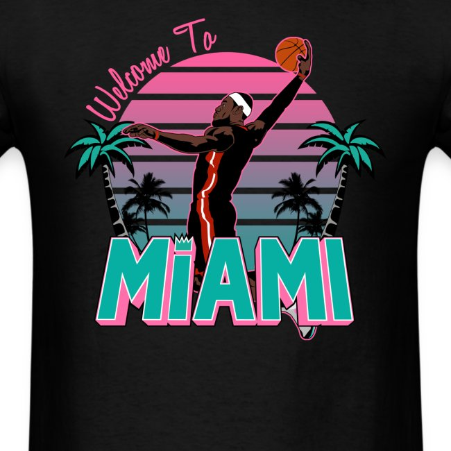 Welcome To Miami South Beach Shirt