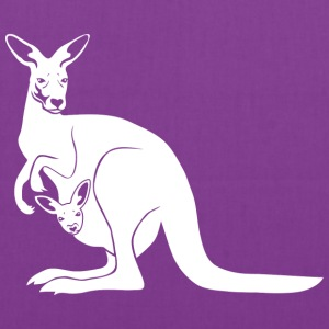 kangaroo roo australia new zealand downunder Bags & backpacks - Tote Bag