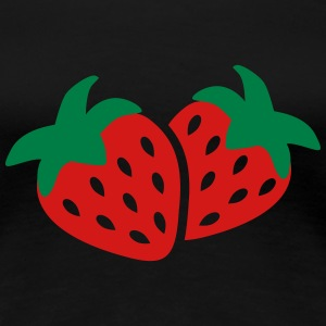 Strawberry Women's T-Shirts - Women's Premium T-Shirt