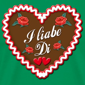 Lebkuchen I liabe Di I Love You Gingerbread - Men's Premium T-Shirt